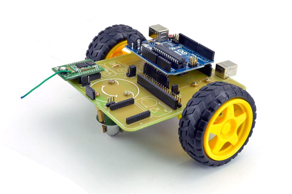 Brain Controlled Robot using Brainsense