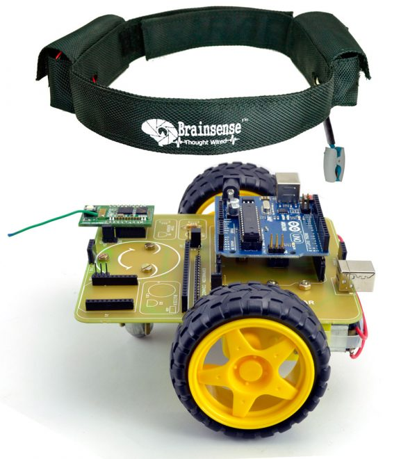 Brain Controlled Robot