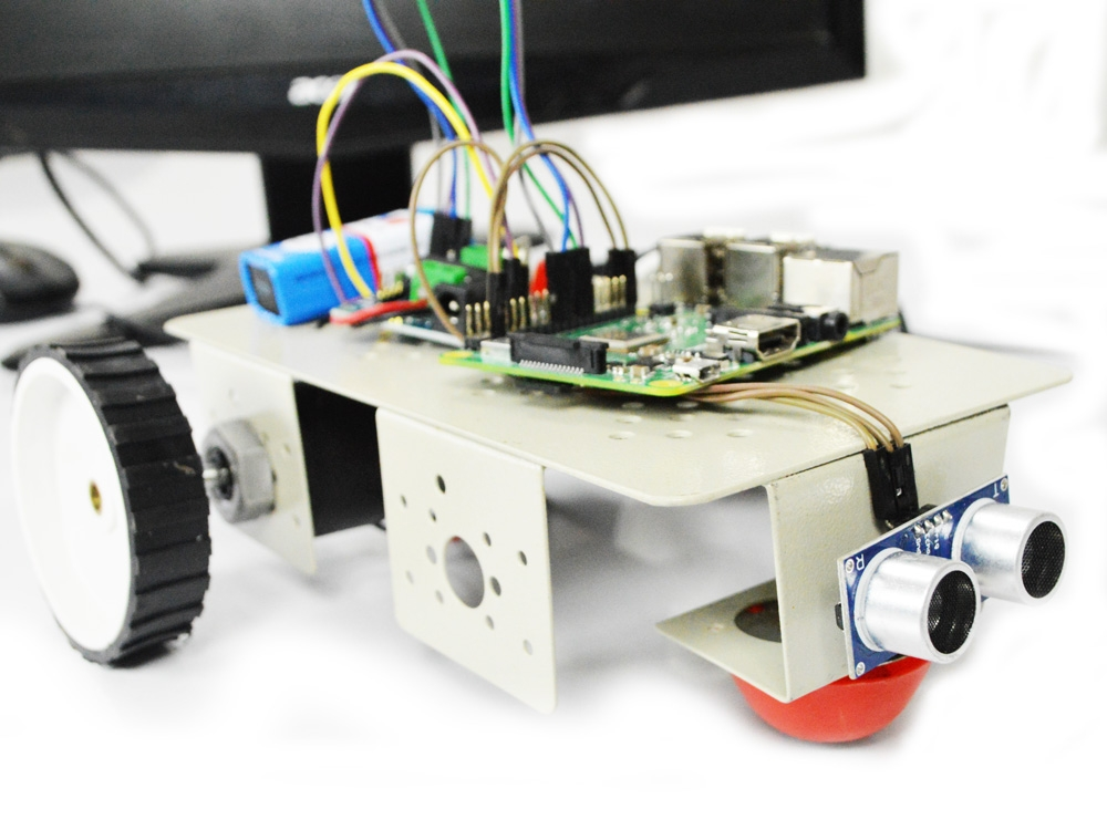 Browser Controlled Robot Using Raspberry Pi
