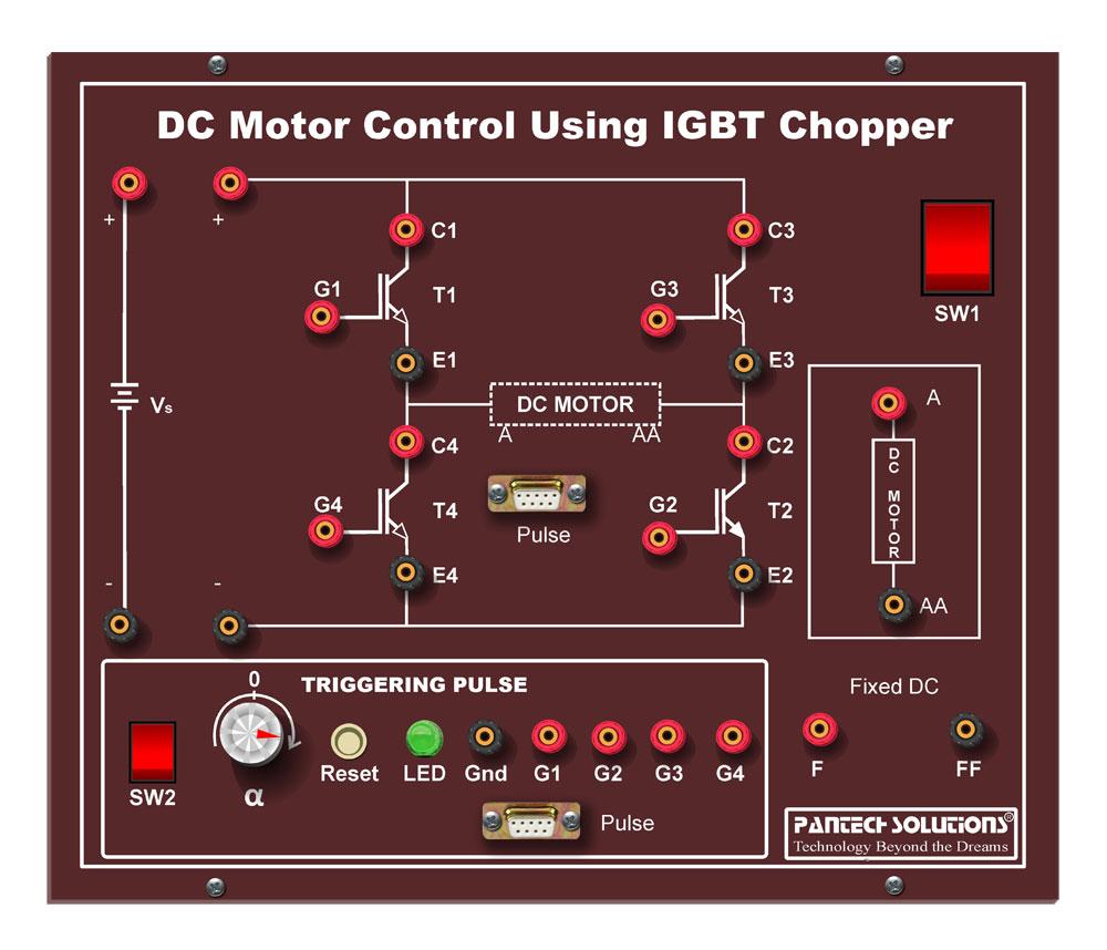 Four Quadrant Chopper for DC Motor