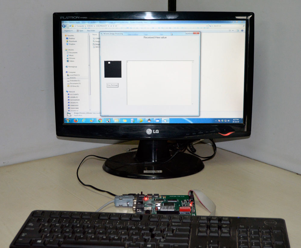 Defect Detection of PCB Fabrication with Subtraction Method using Spartan3 Image Processing Kit