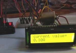 Arduino Based Digital Ammeter using Current sensor and LCD