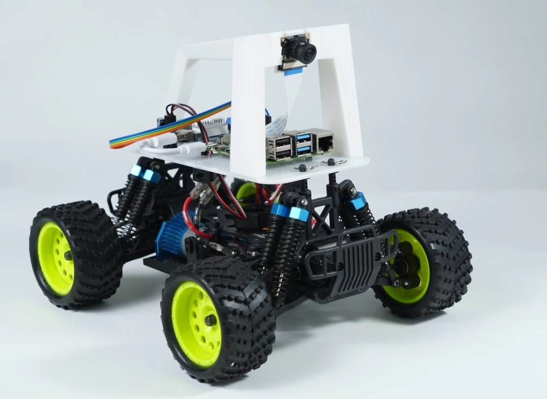 Donkey Car -opensource DIY self driving platform for small scale cars.