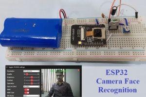 Face Recognition using ESP32 Camera Module -ESP32 Mini projects