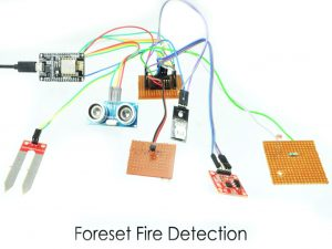 Forest Fire Detection and Prediction Using NodeMCU with IoT