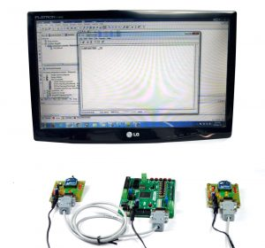 FPGA Based Wireless Temperature Monitoring system using Spartan3an Starter Kit