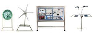 Hybrid Solar and Wind Energy Trainer kit