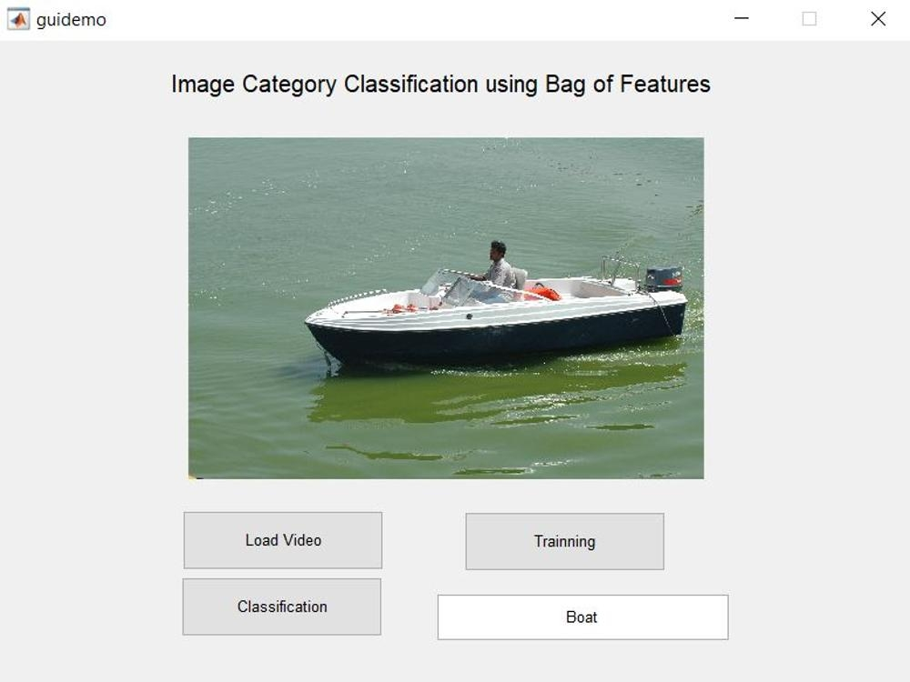 Image Category Classification using Bag of features-Matlab