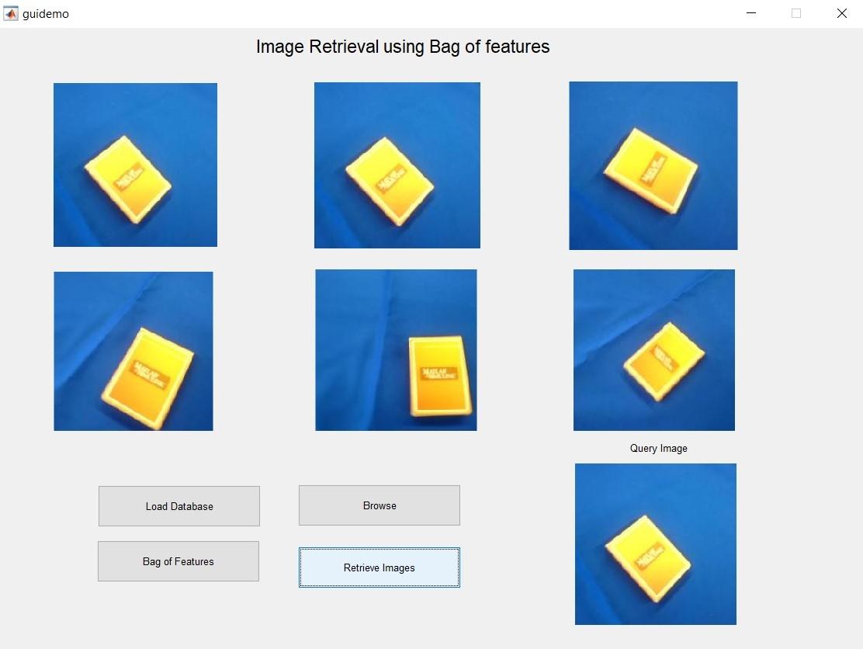 Image Retrieval using Bag of Features
