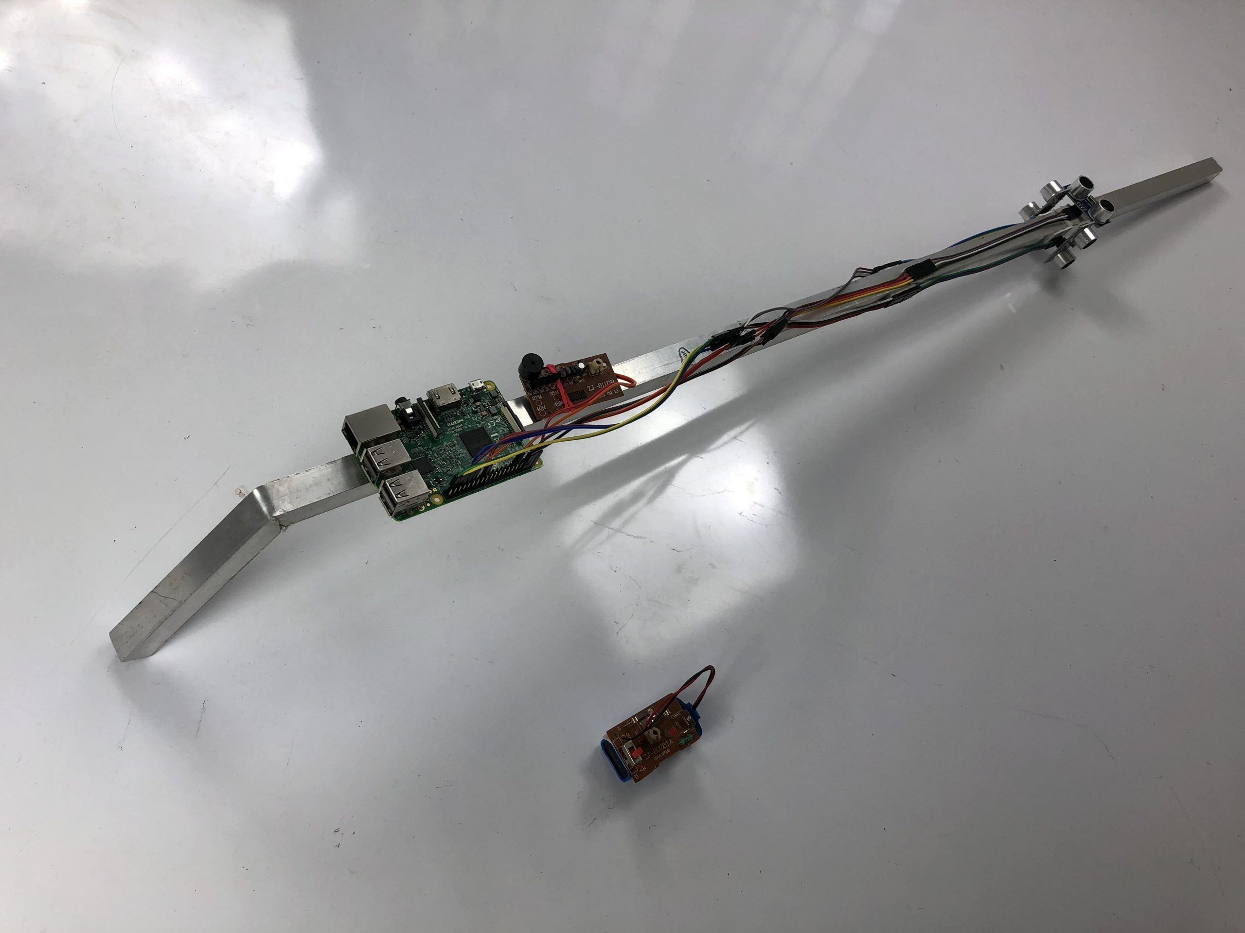Raspberry Pi based Smart Walking Stick for Visually Impaired Person