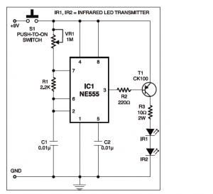 Infrared Remote control Timer