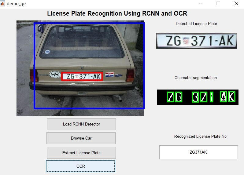 License Plate Recognition using Fast RCNN and OCR