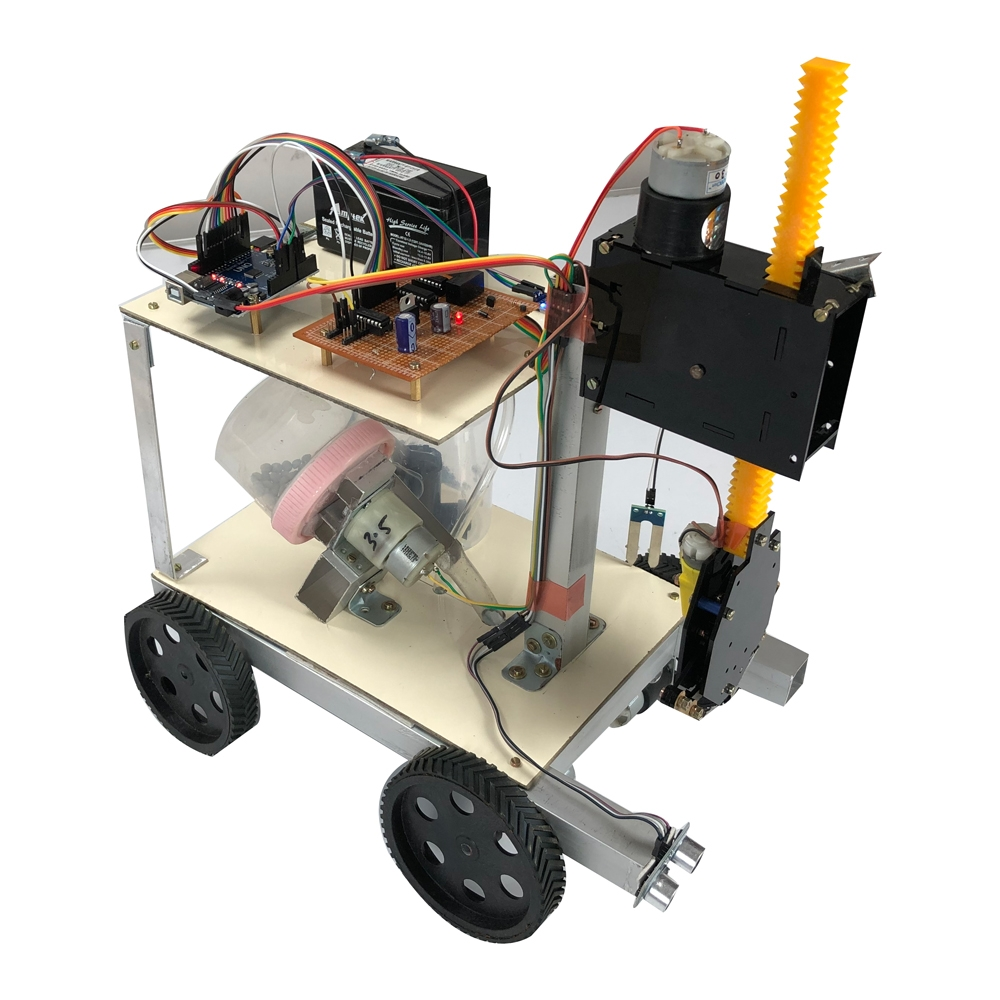 Arduino Based Agriculture robot Using Bluetooth