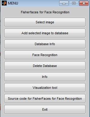 Matlab code for Face Recognition using fisher faces