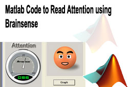 Matlab Code to Read Attention using Brainsense
