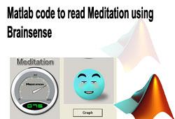 Matlab code to read Meditation using Brainsense