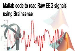 Matlab code to read Raw EEG signals using Brainsense