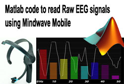 Matlab code to read Raw EEG signals using Mindwave Mobile