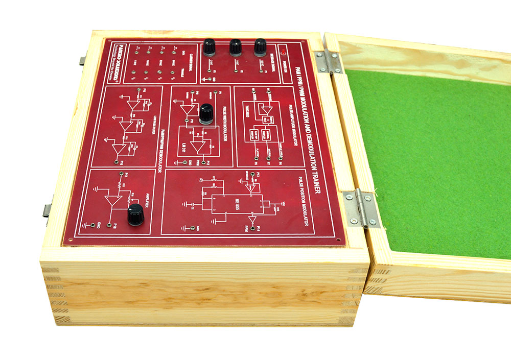 PAM / PPM / PWM Modulation and Demodulation Trainer