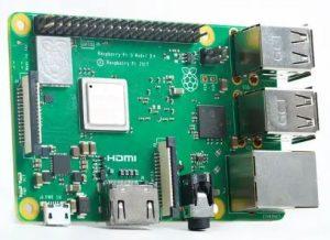 Raspberry Pi 3 Model B+ (On-board WiFi and Bluetooth)