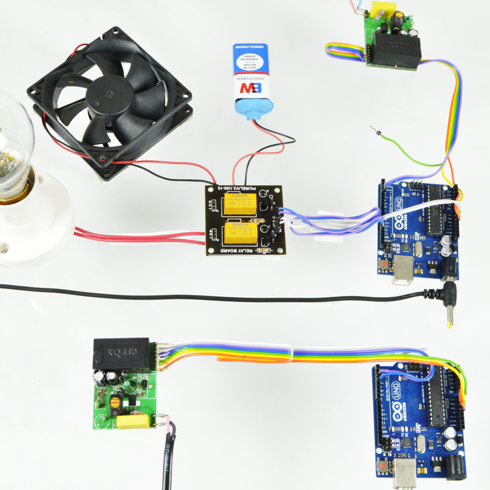 PLCC Based Device Control using Arduino