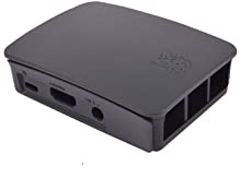 Black case for Raspberry Pi 2 and 3