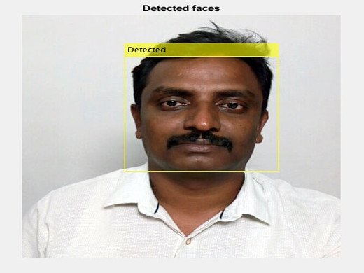 Matlab code for Real Time Face Detection and Tracking