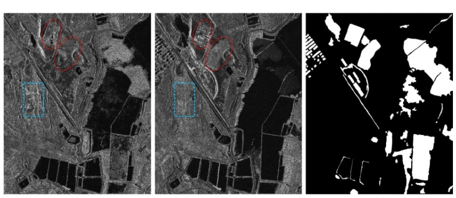 SAR image change detection based on deep denoising and CNN -Deep Learning Projects-Matlab