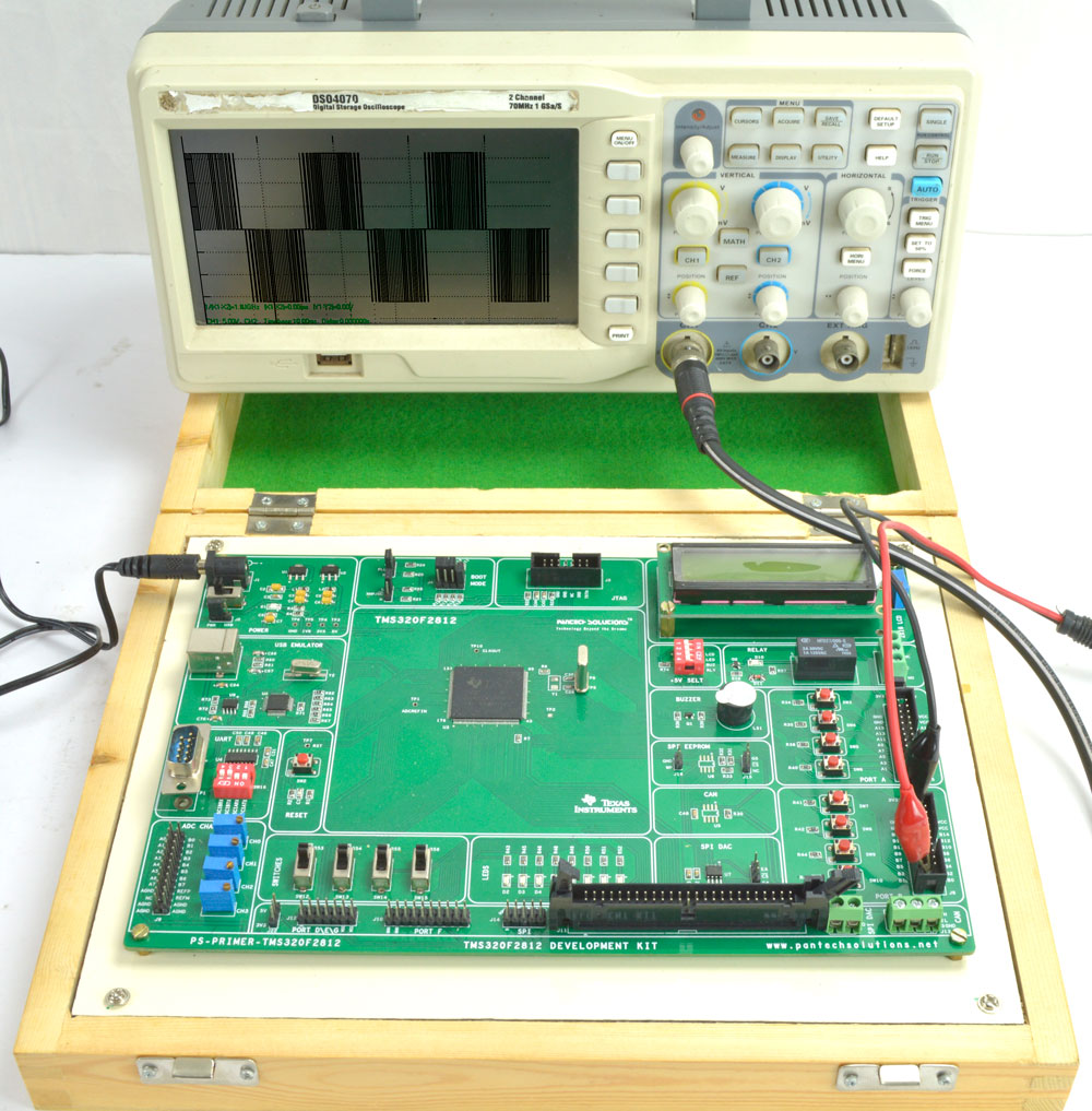 Single Phase Sine PWM Inverter using TMS320F2812