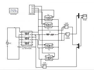 Single Phase Step Down Cycloconverter