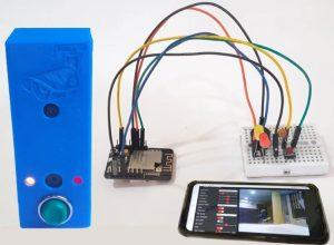 Smart Wi-Fi Video Doorbell using ESP32 and Camera -ESP32 Mini Projects