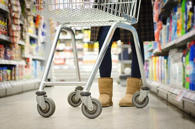 Trolley follower for hypermarkets using Kinect sensor