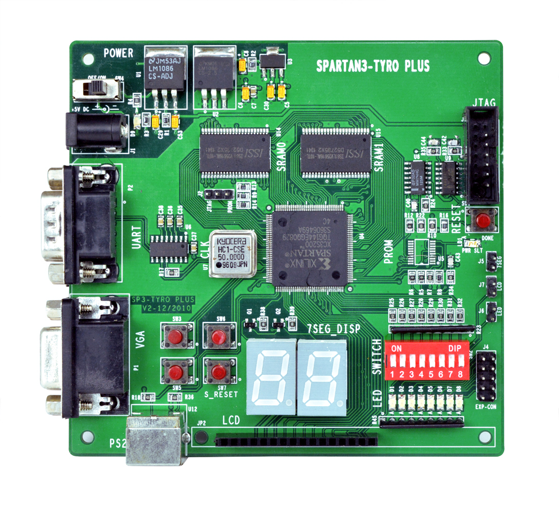 Spartan3 FPGA Image Processing Board
