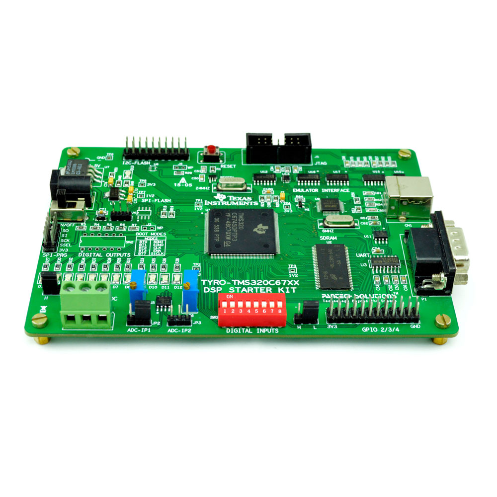 TMS320C6745 DSP Evaluation Board