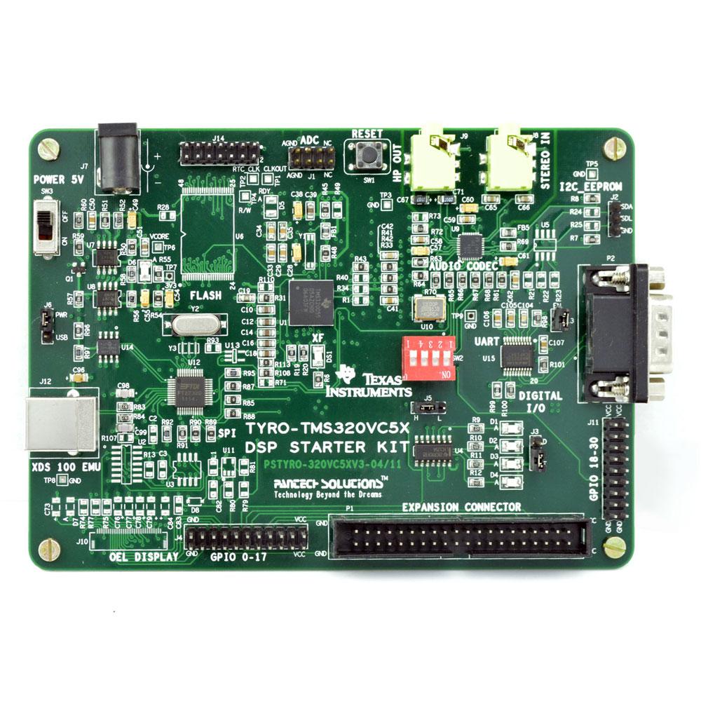 TMS320C5505 DSP Starter board