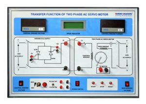 Transfer Function of AC servo motor