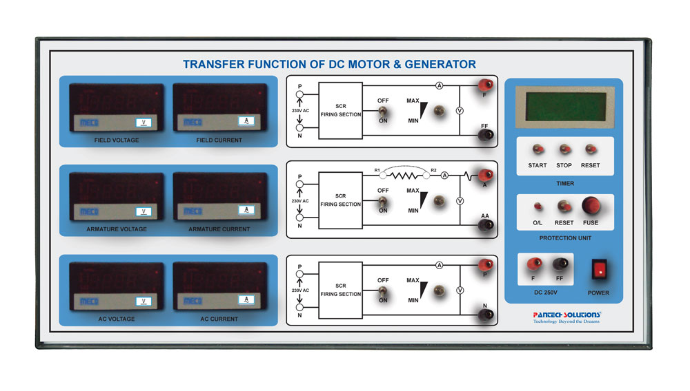 Transfer Function of DC Motor and Generator