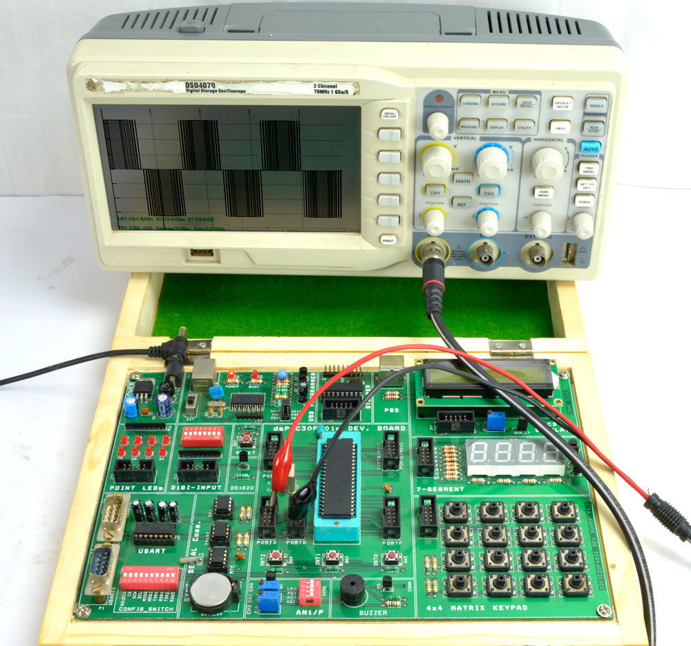 V-F Control of Single Phase PWM Inverter using dsPIC30F4011