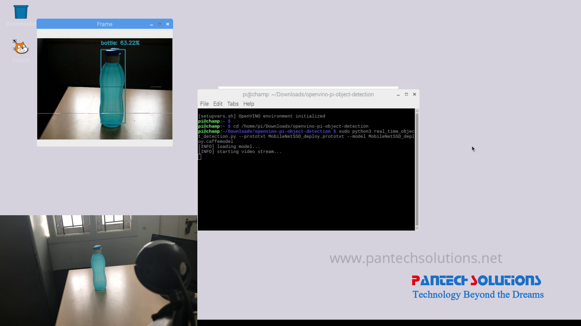 Real-time Object Recognition using Raspberry Pi
