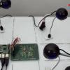 An autonomous traffic light system based on vehicle density using OpenCV