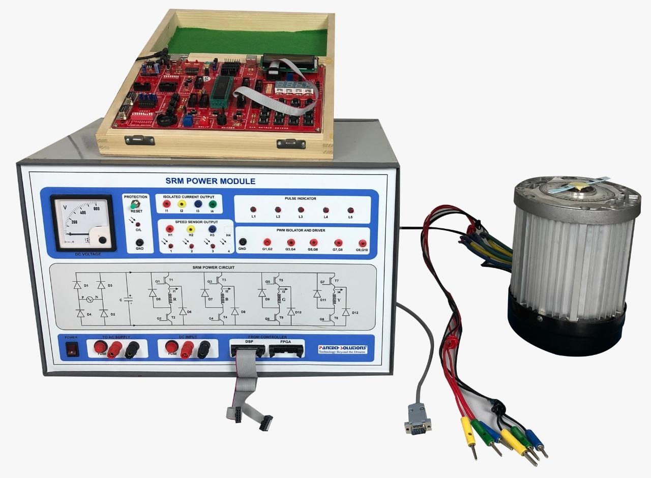 Three phase SRM control using DSPIC